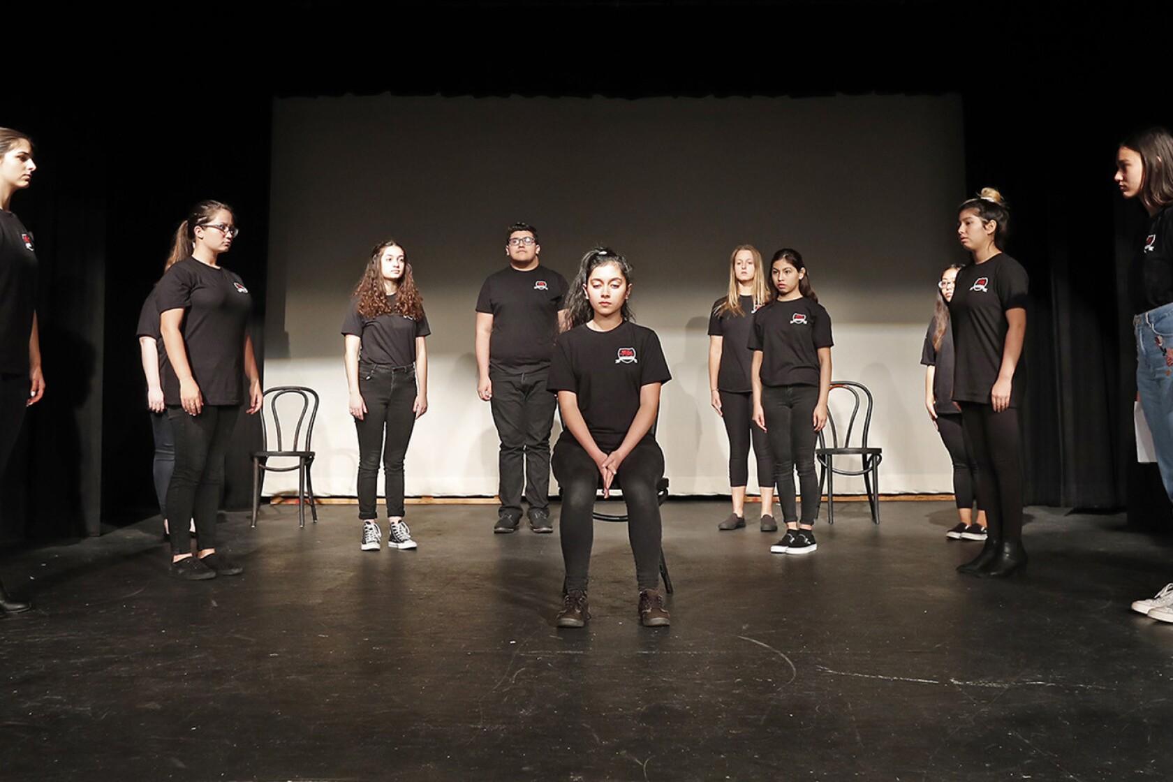 Estancia High School drama class pens an original play about
