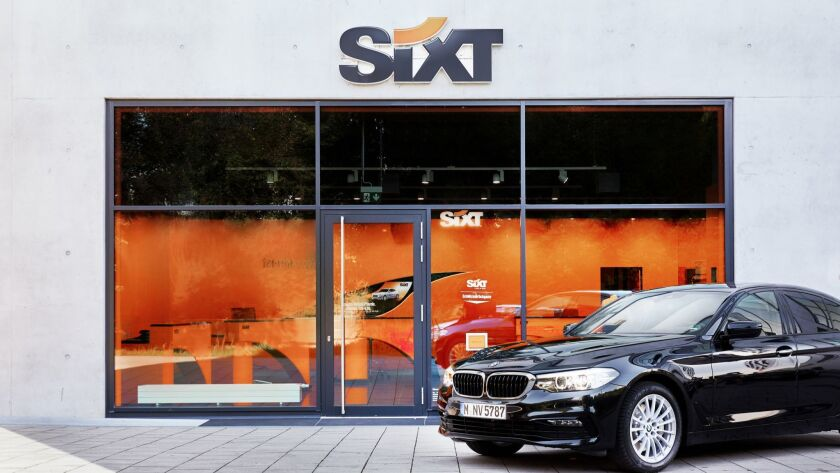 Sixt Came To The U S In 2011 And It S Already The Nation S Fourth Largest Car Rental Company Los Angeles Times