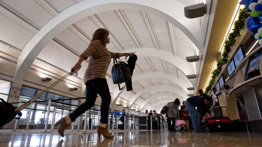 Passengers at Orange County's John Wayne Airport will find faster free Wi-Fi that's easy to access. The airport recently upgraded the free service.