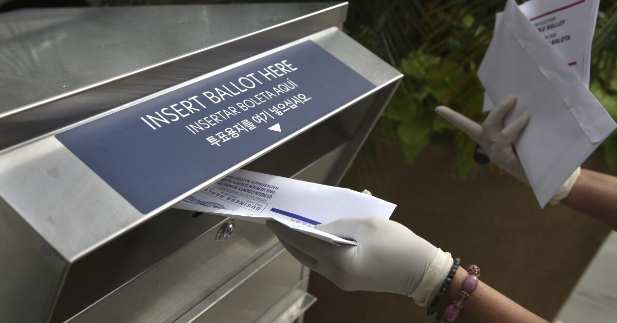 New Jersey and Delaware hold nearly all-mail primaries