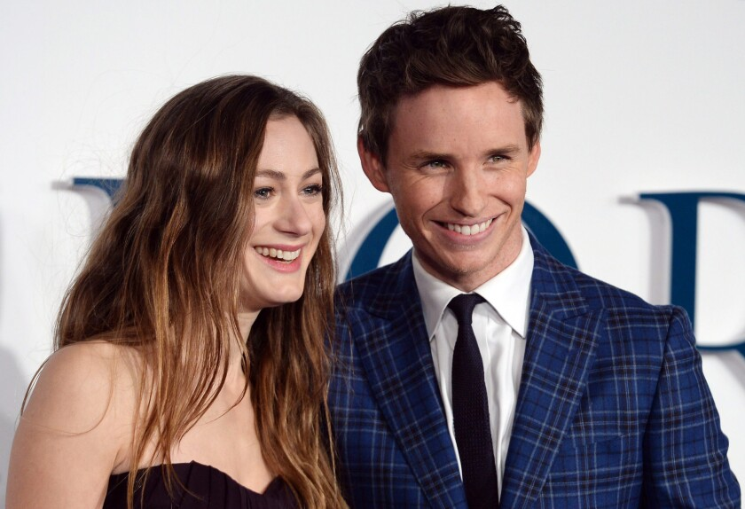 """The Danish Girl"" star Eddie Redmayne welcomes his first child with wife Hannah Bagshawe."