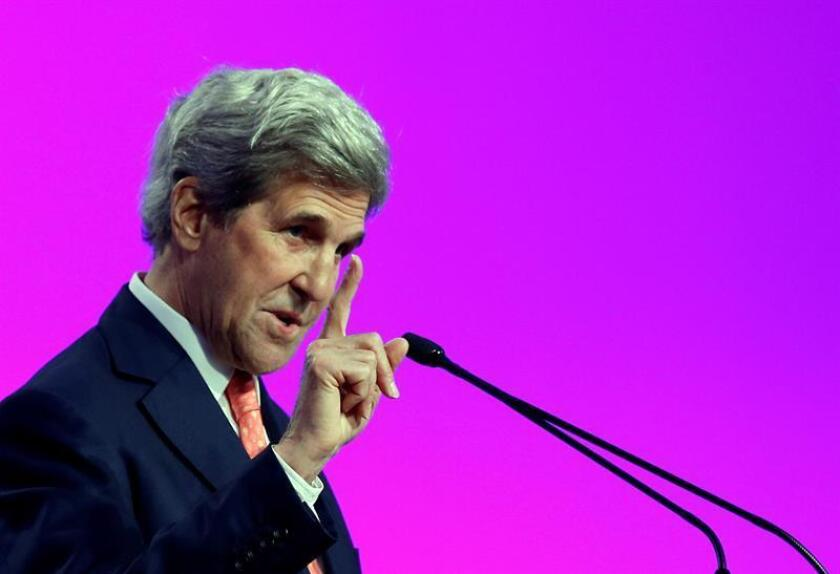 Former US Secretary of State John Kerry. EFE/EPA/FILE