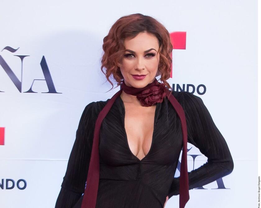 La actriz Aracely Arámbula