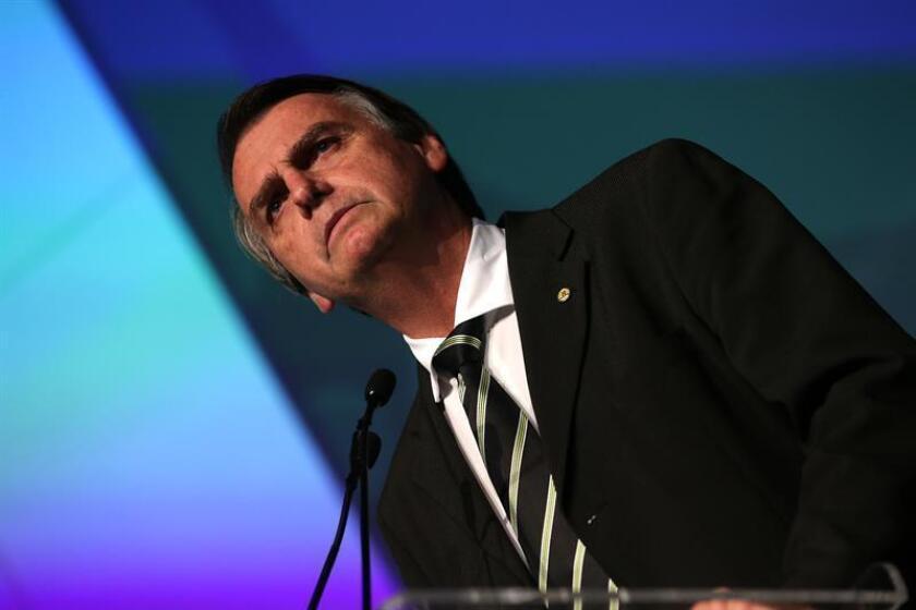 El presidente electo de Brasil, Jair Bolsonaro. EFE/Archivo