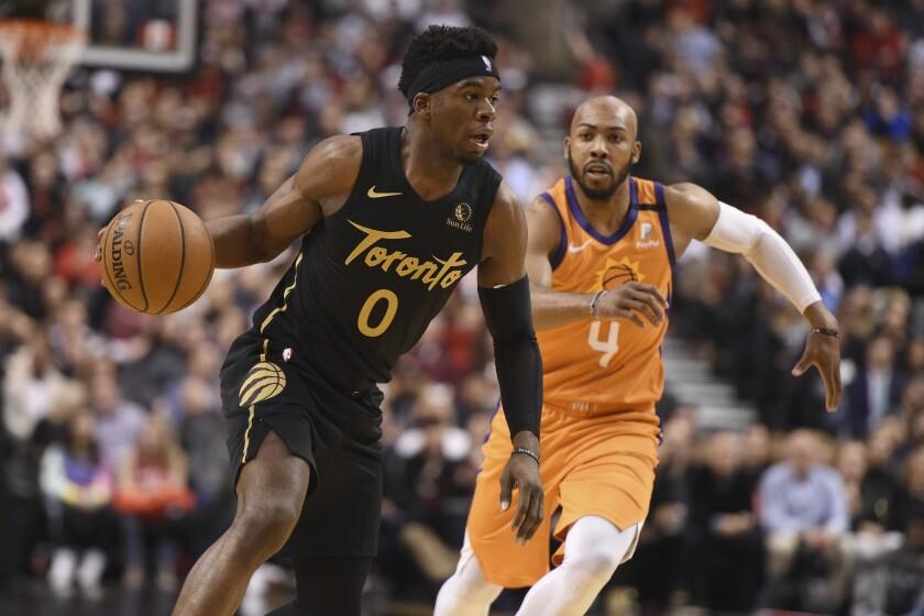 Suns Raptors Basketball