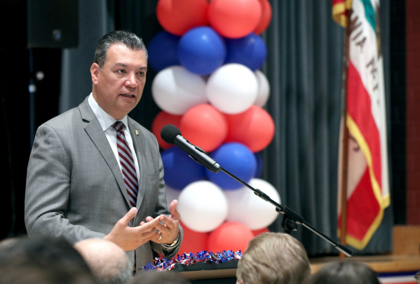 Photo Gallery: Secretary of State Padilla visits Clark Magnet High