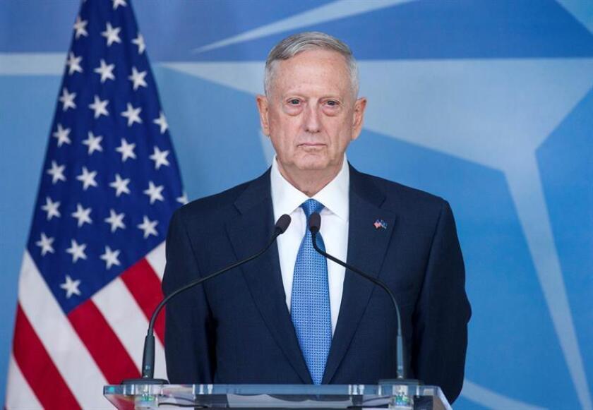 """Entre los ministros que asistirán está el jefe del Pentágono, James Mattis, quien durante su estancia """"se reunirá con líderes clave para reafirmar las relaciones de defensa y mantendrá encuentros bilaterales con altos funcionarios"""", informó en comunicado el Departamento de Defensa de Estados Unidos el pasado viernes. EFE/Archivo"""