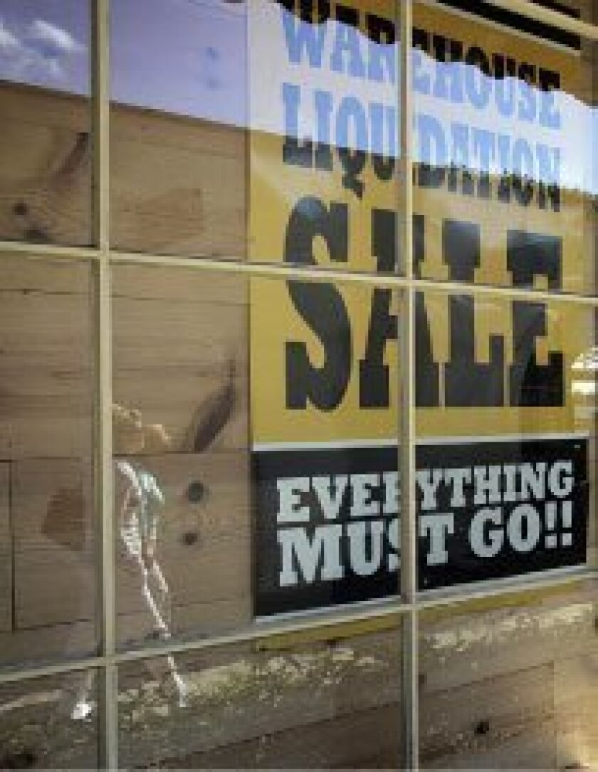 The Big Dogs clothing chain is closing all of its stores, including this shop in Seaport Village.