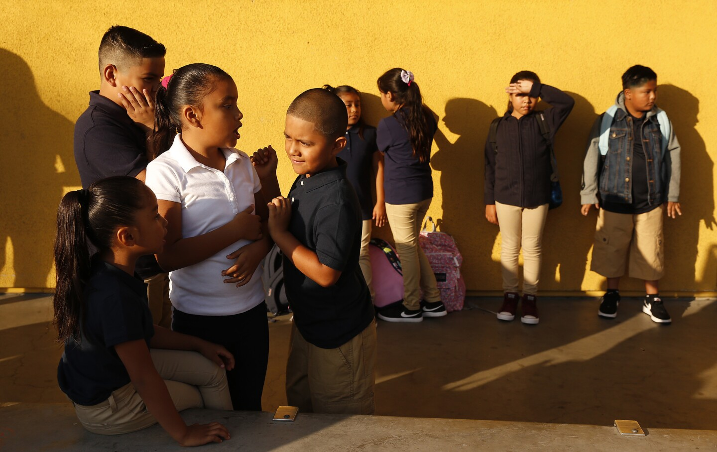 It's back to school for L.A. Unified