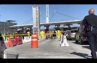 La CBP realiza un ejercicio de entrenamiento en la frontera de San Ysidro