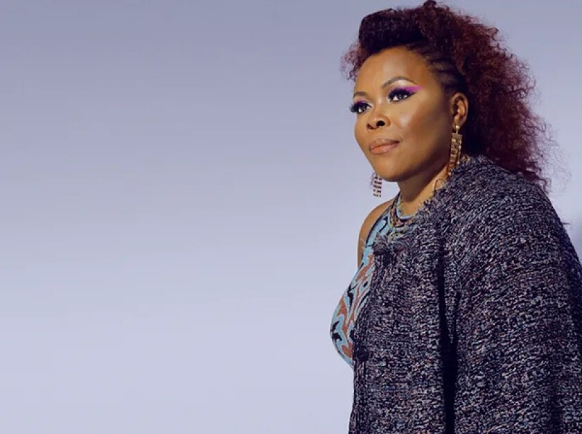 """Alicia Gwynn has launched her music career, years after her husband urged her to """"go do something you love to do."""""""