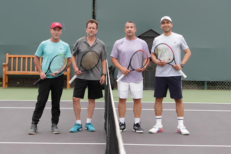 Tom Zeman, Patrick Stuart, Rich Goldner, Francois Castejon