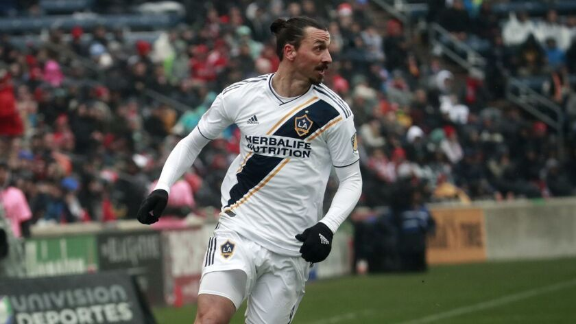 Galaxy star Zlatan Ibrahimovic suspended for two games by MLS