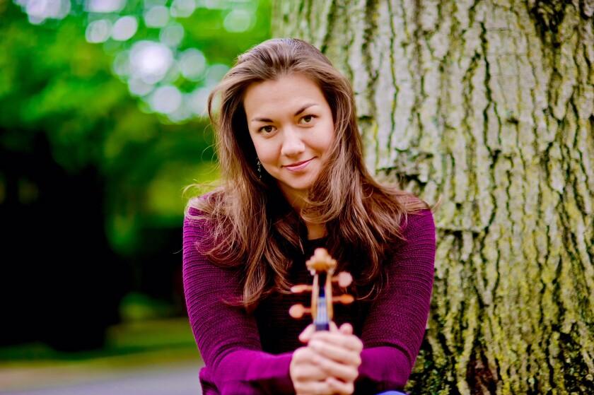 Violinist Ariana Kim
