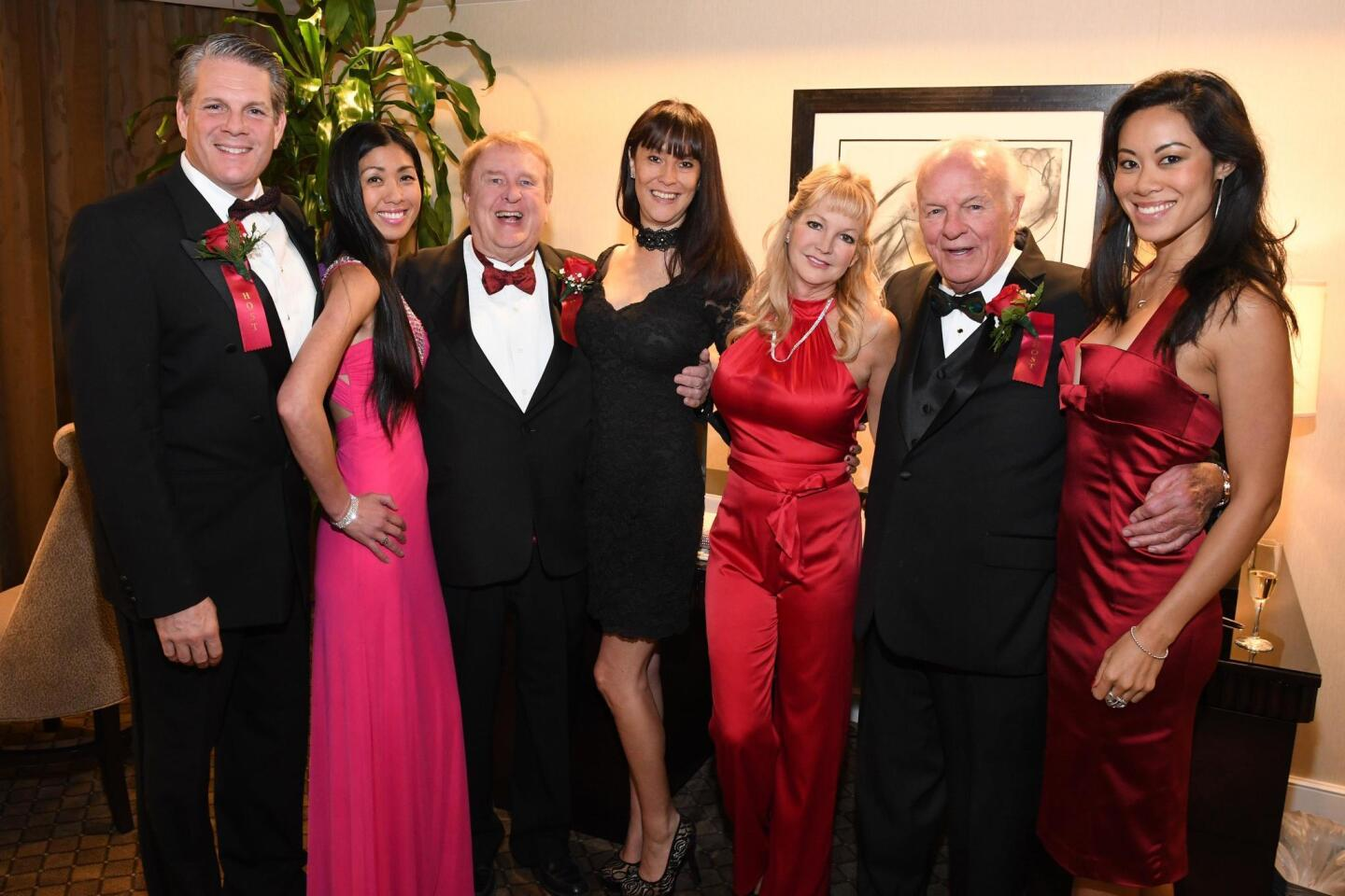 Realtor Tom Groff hosted his annual Christmas Celebration Dec. 16, 2016 at the Hilton Torrey Pines in La Jolla. Co-host Denny Sanford and hundreds of guests brought toys for distribution to several children's charities.
