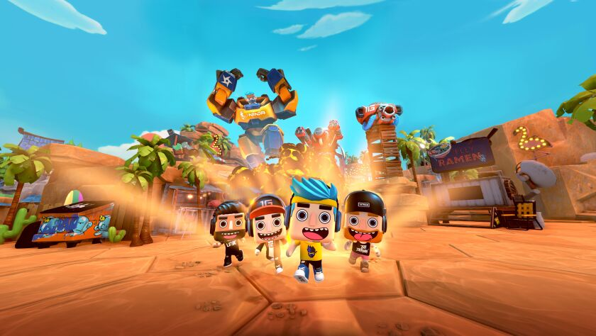 """Players can play as some of their favorite streamers in LAMO's new game """"LAMO The Game."""""""
