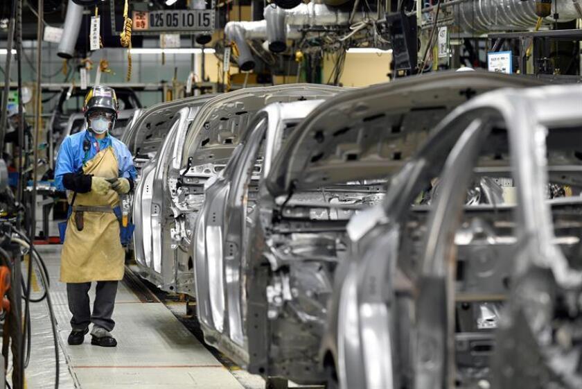 Los 749 millones de dólares de inversión se repartirán en cinco de las 10 plantas de producción que Toyota tiene en la actualidad en Estados Unidos. EFE/Archivo