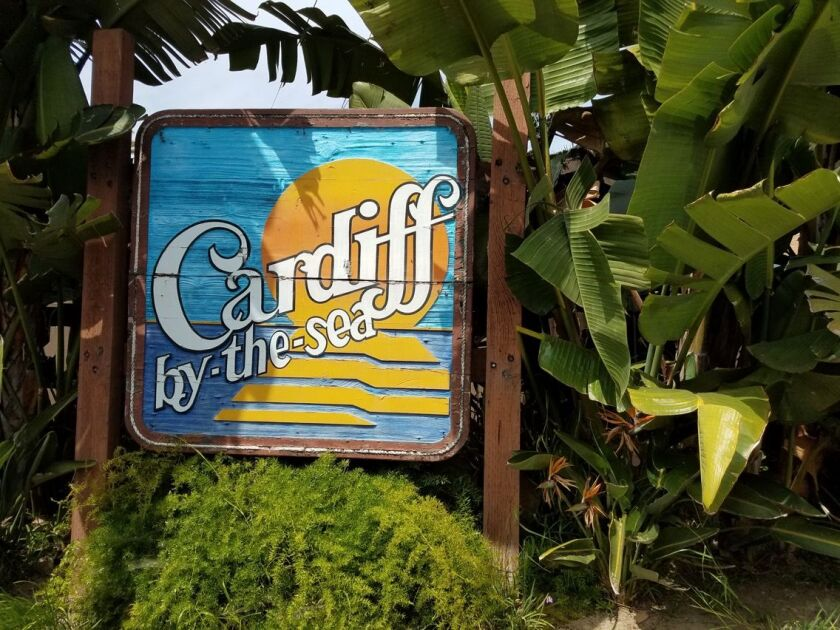 Donations are needed to help repair the iconic Cardiff-by-the-Sea sign.