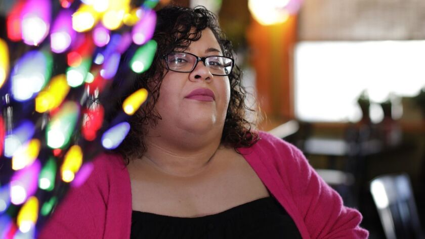 Yesika Salgado spent a lot of time at Cafe Tropical, where she worked on her first two books.