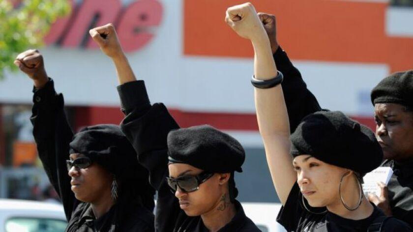 Acción y reacción: El aumento de casos de ciudadanos negros muertos a manos de la policía de Estados Unidos ha impulsado la proliferación de grupos separatistas.