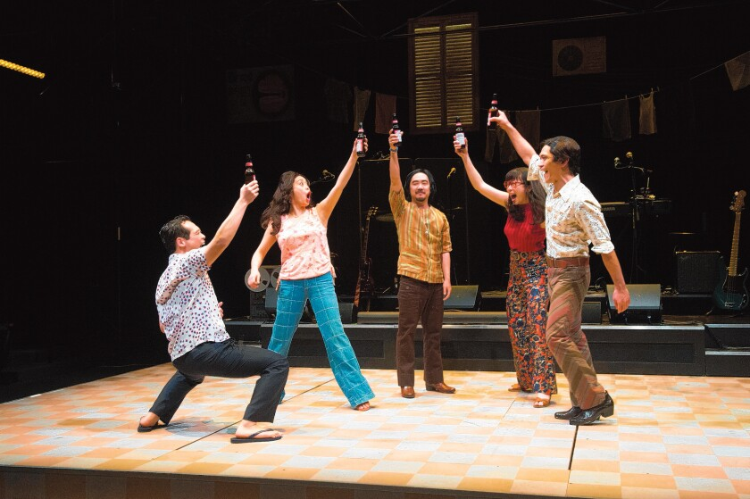 A scene from 'Cambodian Rock Band,' coming to La Jolla Playhouse Nov. 12-Dec. 15, 2019.