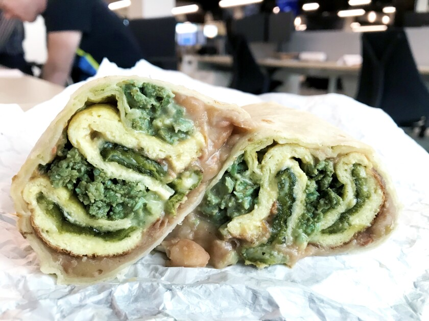Chile relleno burrito