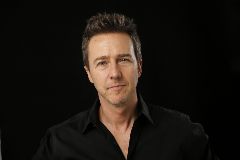 Edward Norton is using his charitable website Crowdrise to raise funds for a Syrian refugee profiled by Humans of New York.