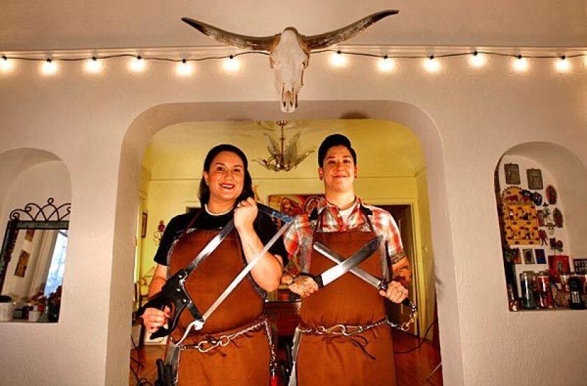 Amelia Posada, left, and Erika Nakamura of Lindy & Grundy.