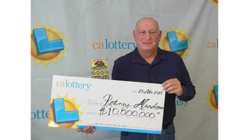 Modesto man wins $10 million just one minute after winning
