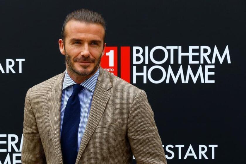 El exfutbolista británico David Beckham. EFE/Archivo