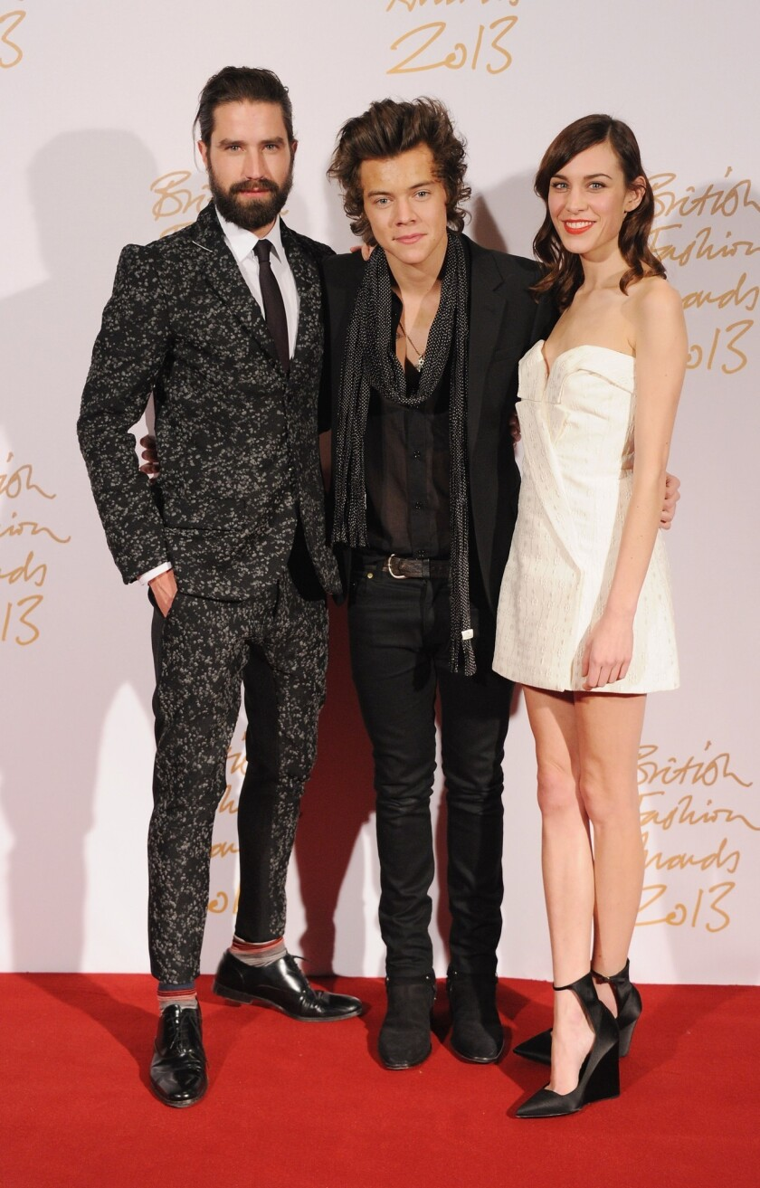 British Fashion Awards 2013 - Winners Room