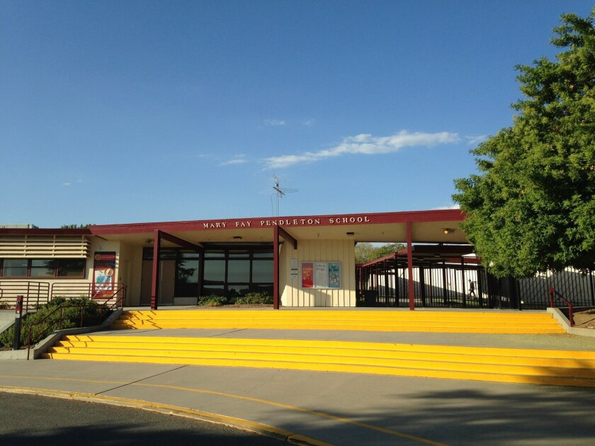Mary Fay Pendleton School received a $47.5 million federal grant from the Department of Defense to update its campus.