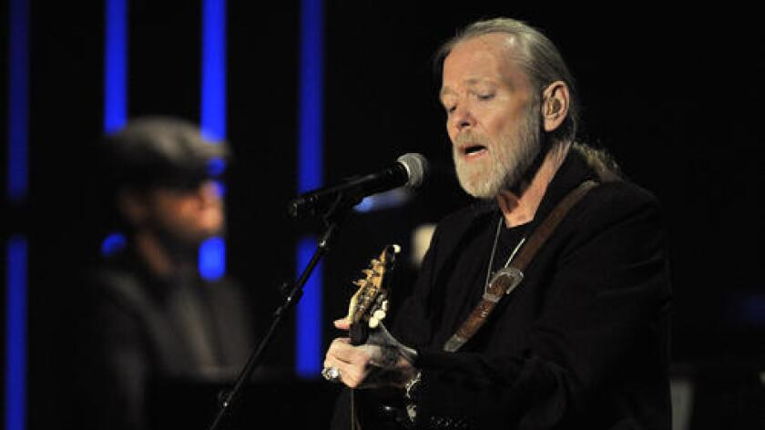 Gregg Allman was the subject of a biopic that was being filmed when Sarah Jones, a camera assistant, was killed by a freight train on a film set.