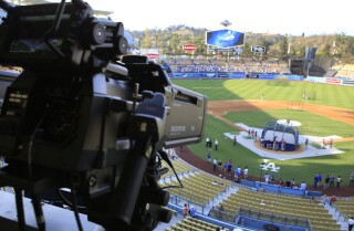 Bill Plaschke's Wakeup Call: No free Dodgers on TV this year?