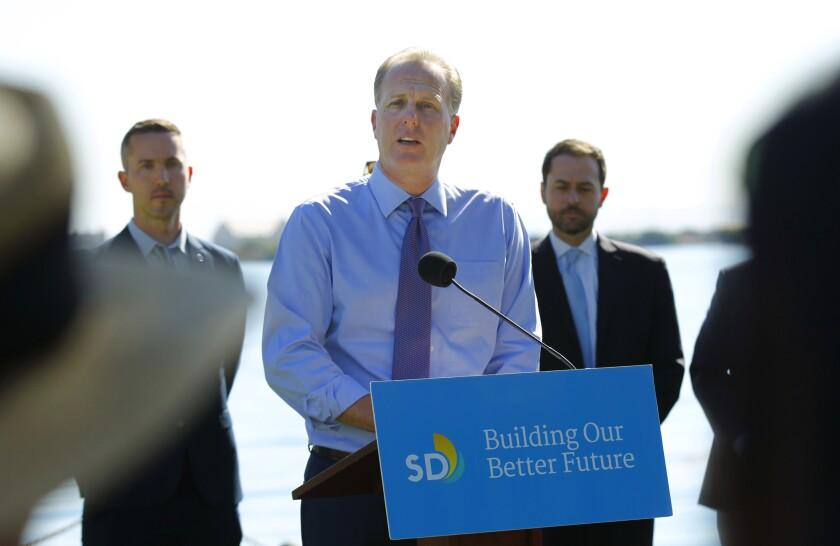 San Diego Mayor Kevin Faulconer Photo by K.C. Alfred/The San Diego Union-Tribune