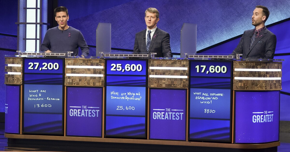'Jeopardy! The Greatest of All Time' goes all in on comedy ...