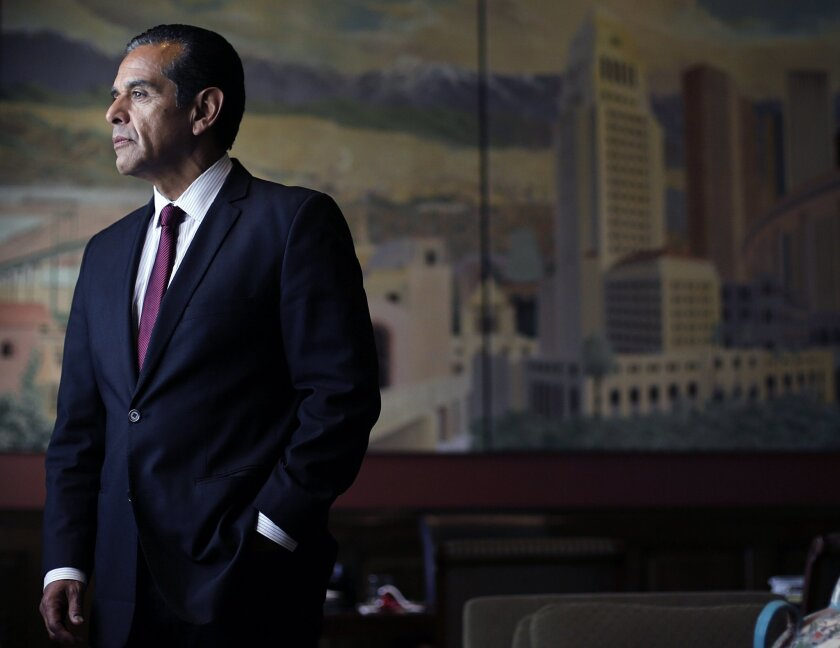 Former Los Angeles Mayor Antonio Villaraigosa's decision not to run for U.S. Senate has Latino leaders searching for another torch bearer.