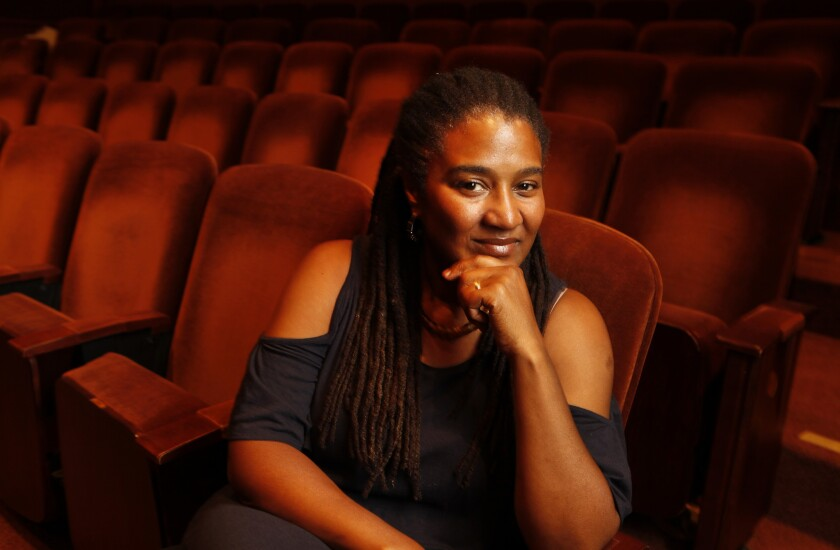 Playwright Lynn Nottage is a Pulitzer Prtize winner and former recipient of a MacArthur grant.