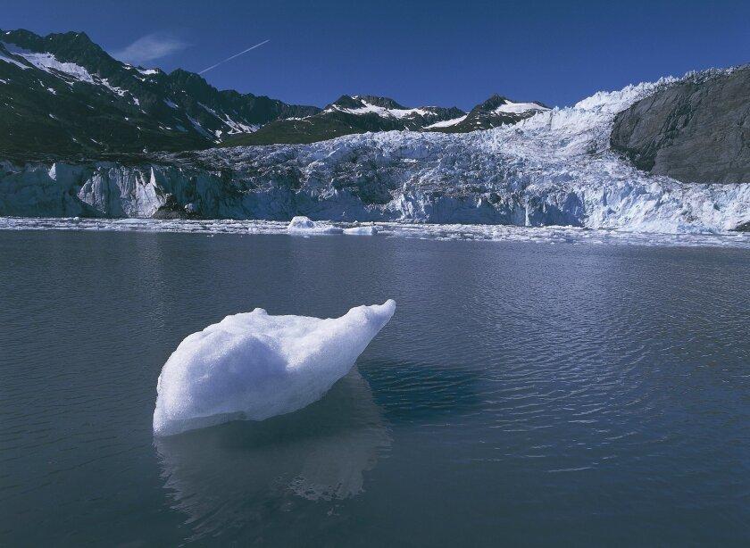 2006: Columbia Glacier close to the coast.