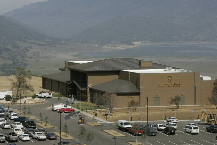 The Santa Ysabel Casino off state Route 79 shortly after it opened in 2007.