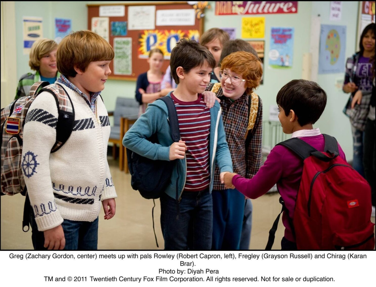 Movie Review Second Wimpy Kid Entry Falls Flat The San Diego Union Tribune