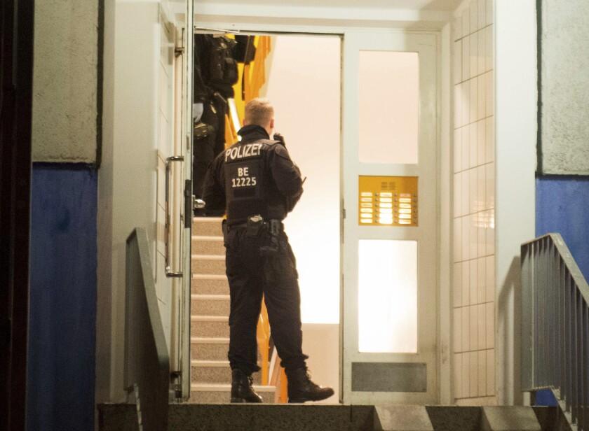 Germany Police Raids