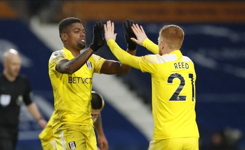 EPL relegation rivals West Brom, Fulham draw 2-2 - The San Diego  Union-Tribune