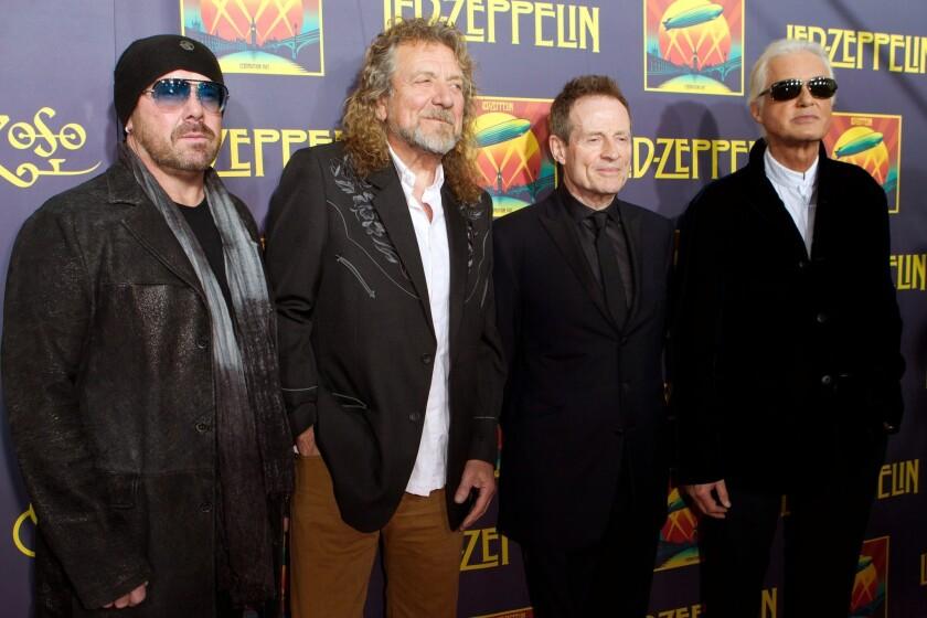 Grammys 2014: Led Zeppelin's 'Celebration Day' wins rock album