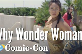 Why Cosplay as Wonder Woman?
