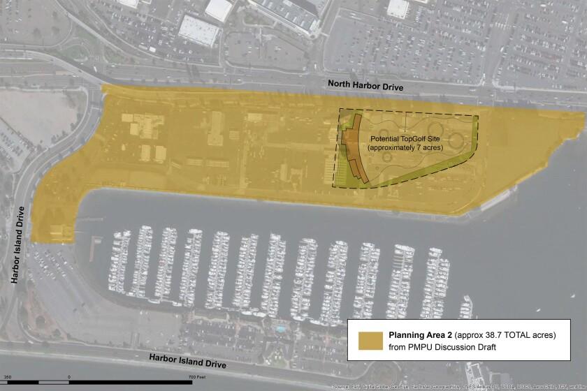 Topgolf proposed location