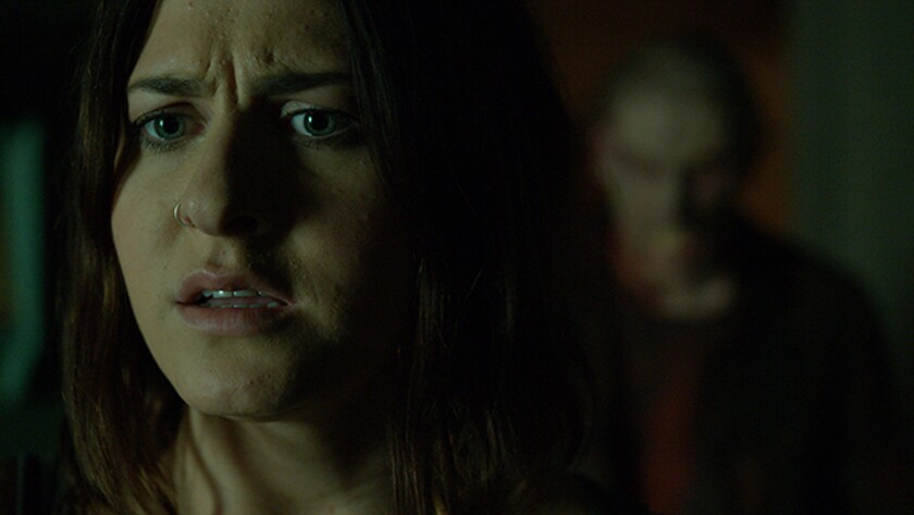 """Scout Taylor-Compton in the movie """"Feral."""""""
