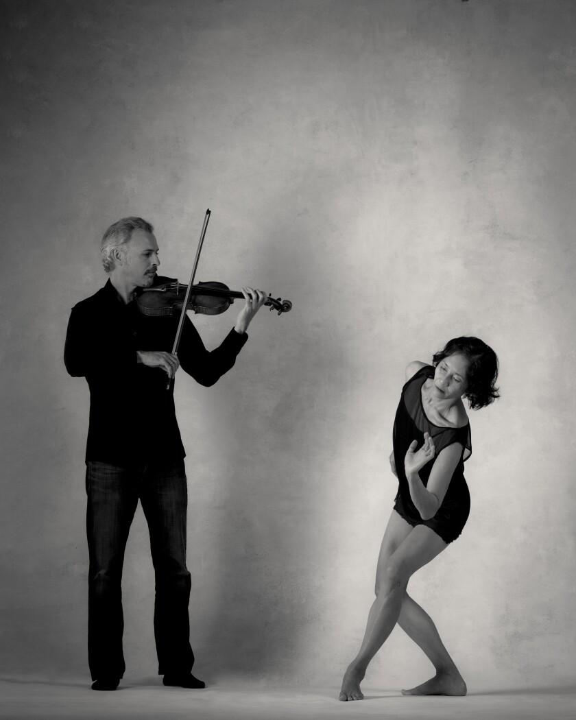 Musician Colin Jacobsen and dancer Maile Okamura