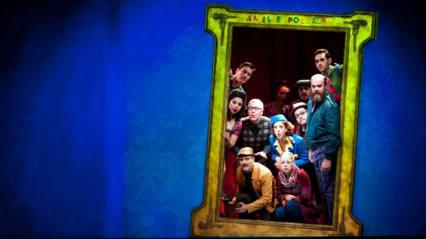 """Amélie, A New Musical"" at the Ahmanson Theatre in L.A. in December."