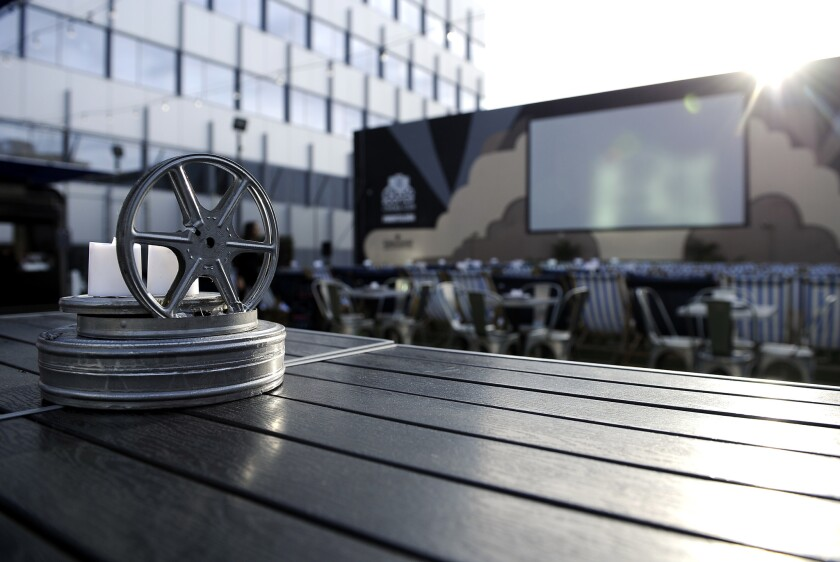Rooftop Cinema Club.